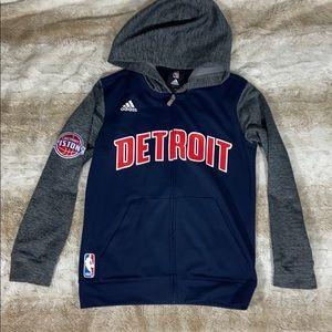 Adidas Detroit Pistons Zip Up